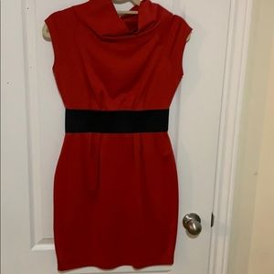 Red HipHugger Dress